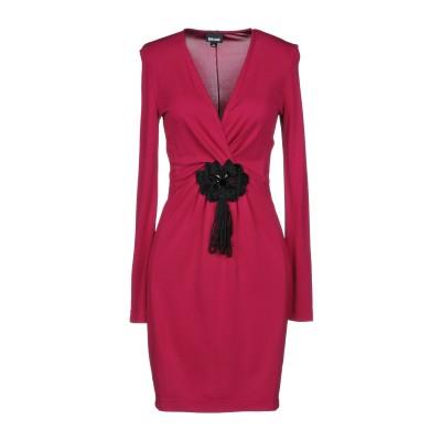 ジャストカヴァリ JUST CAVALLI ミニワンピース&ドレス ガーネット 38 レーヨン 100% ミニワンピース&ドレス