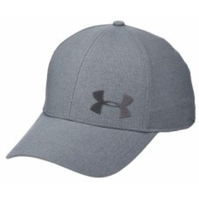 アンダーアーマー メンズ 帽子 アクセサリー AV Core Cap 2.0 Pitch Gray/Meta