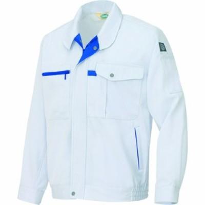 アイトス エコ交織マルチワーク 長袖ブルゾン シルバーグレー M (1着) 品番:AZ-6360-003-M