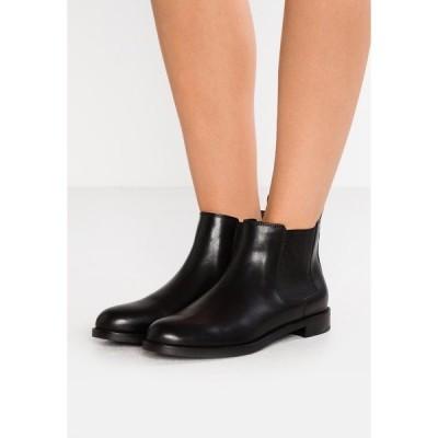 ラルフローレン ブーツ&レインブーツ レディース シューズ SIGNATURE HAANA - Ankle boots - black
