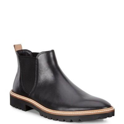エコー レディース ブーツ・レインブーツ シューズ Incise Tailored Chelsea Leather Booties