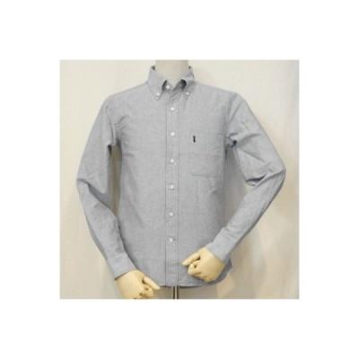 SJBD-L01-インディゴ-セルビッチオックスBDシャツ長袖L01-SJBDL01-SAMURAIJEANS-サムライジーンズシャツ-ボタンダウンシャツ