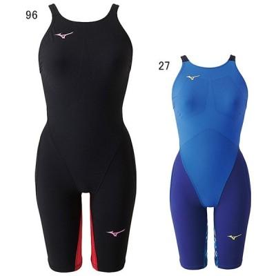 ミズノ 水泳 水球 競泳用水着  レース用 レディース MX SONIC G3 ハーフスーツ FINA承認モデル MIZUNO N2MG8712
