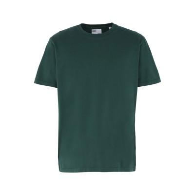 COLORFUL STANDARD T シャツ グリーン L オーガニックコットン 100% T シャツ