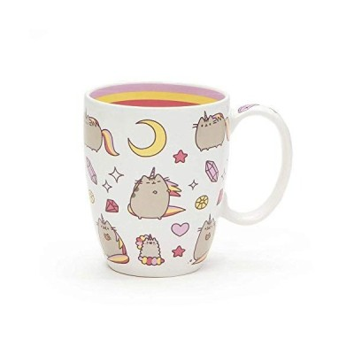 "Enesco Pusheen by Our Name is Mud ""Magical Pusheenicorn"" Stoneware Coffee Mug, 12 oz.【並行輸入品】"