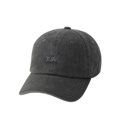 【エックスガール/X-girl】 PIGMENT-DYED CAP