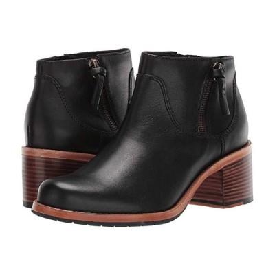 クラークス Clarkdale Dawn レディース ブーツ Black Leather