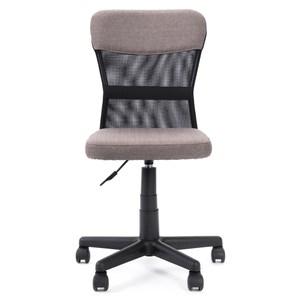 傑越網布椅 淡灰色