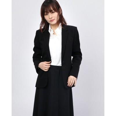 リネーム Rename シングルボタンテーラードジャケット (ブラック)