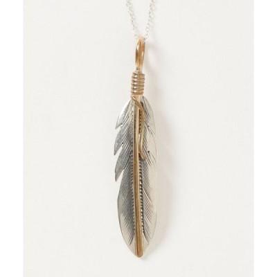 ネックレス インディアンジュエリー Feather necklace イーグルモチーフ ネックレス