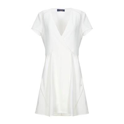 トラサルディ ジーンズ TRUSSARDI JEANS ミニワンピース&ドレス ホワイト 42 ポリエステル 97% / ポリウレタン 3% ミニワ