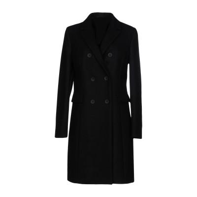 ANNIE P. コート ブラック 48 バージンウール 100% コート
