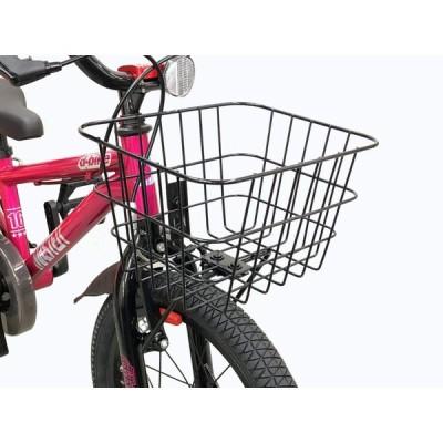 アイデス D-bikeマスターシリーズ用 自転車用バスケット(前カゴ) ブラック