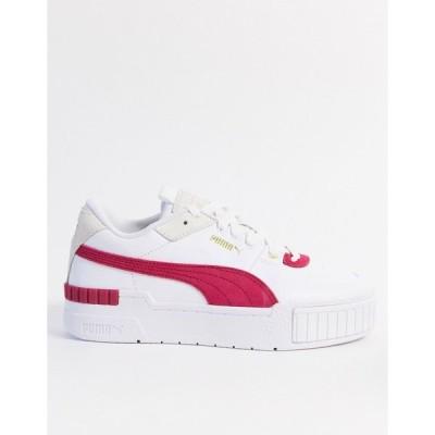 プーマ レディース スニーカー シューズ Puma Cali Sport sneakers in pink Pink