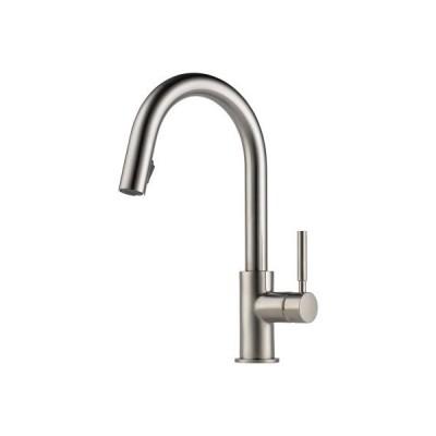 【並行輸入品】Brizo 63020LF-SS Solna Kitchen Faucet with Pullout Spray, Stainless Steel
