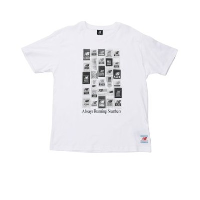 MT11526WT NBEssentialsブランドラベルパックTシャツ WT 615780-0001