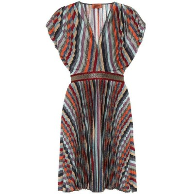 ミッソーニ Missoni レディース ワンピース ワンピース・ドレス metallic knit dress