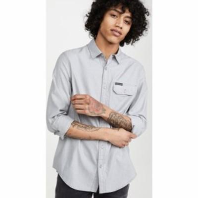 カルバンクライン Calvin Klein Jeans メンズ シャツ シャンブレーシャツ トップス chambray stripe shirt Convoy