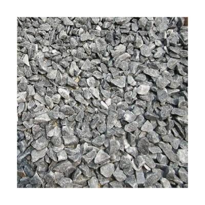 天然石 砕石砂利 1-2cm 60kg スレートグレー (ガーデニングに最適 灰色砂利)
