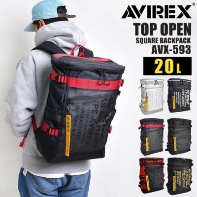 リュック メンズ AVIREX アヴィレックス アビレックス 大容量 防水 A4 20L リュックサック レディース 子供 ターポリン