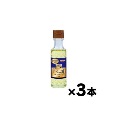 日本製粉 ニップン アマニ油プレミアムリッチ 100g×3本