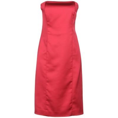 THANA ミニワンピース&ドレス フューシャ 44 ポリエステル 97% / ポリウレタン 3% ミニワンピース&ドレス