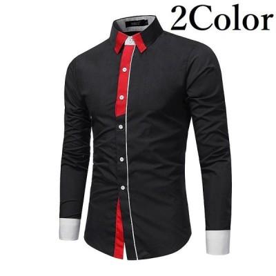 カジュアルシャツ シャツ メンズ トップス ファッション おしゃれ スタイリッシュ 長袖 ボタン M L XL 2XL 3XL