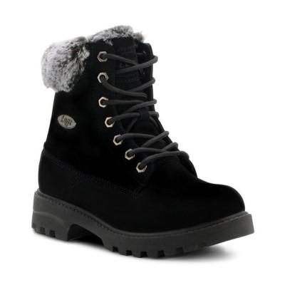 ラグズ レディース ブーツ・レインブーツ シューズ Women's Empire Hi Fur Classic Memory Foam Chukka Regular Fashion Boot
