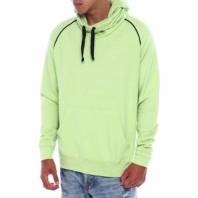 バイヤーズピック Buyers Picks メンズ パーカー トップス Ninja Hoodie W Contrast Detail Light Green