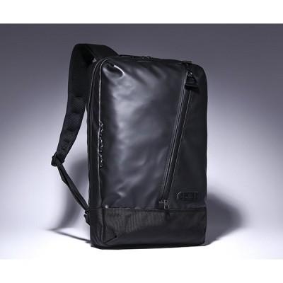 【ミニコンテナボックス付き】マスターピース スクエアバックパック/ブラック メンズ スリック 55554 master-piece