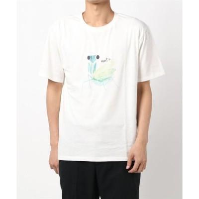 tシャツ Tシャツ 大人もかまきりくんプリントTシャツ