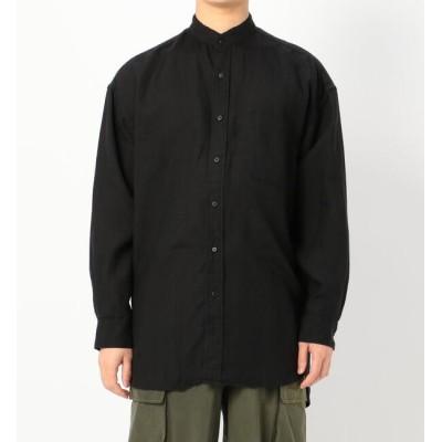 【ビショップ/Bshop】 【orSlow】リネン スタンドカラーシャツ MEN
