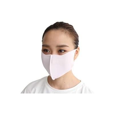 [レクール] lecur 日本製 洗える マスク ストレッチ UVカット 男女兼用 センターフレーム付き版  elle (レディシュグレー L)
