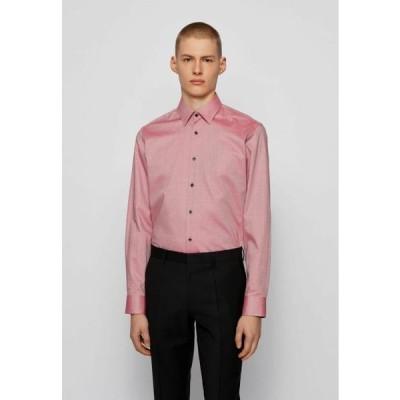 ボス メンズ ファッション GANOS - Formal shirt - red