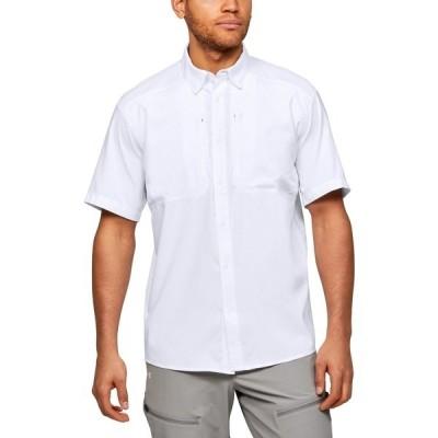 アンダーアーマー シャツ トップス メンズ Under Armour Men's Tide Chaser 2.0 Fishing Shirt White