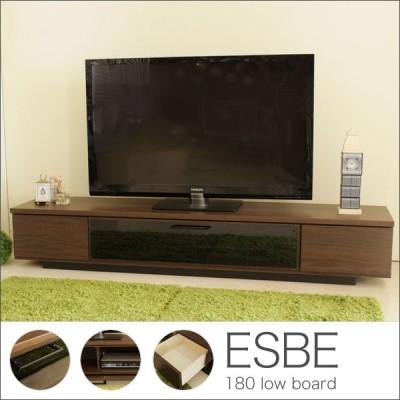 ローボード テレビ台 テレビボード TV台 TVボード 幅180cm 収納  完成品 送料無料