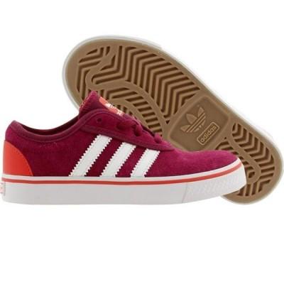 ユニセックス スニーカー シューズ Adidas Skate Little Kids Adi Ease J (purple / triber / ftwwht / brired)