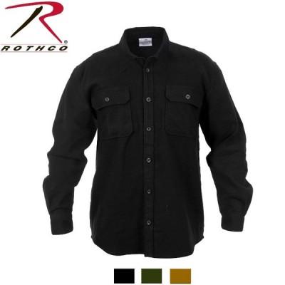 【ビッグサイズ】ロスコ ソリッドフランネルシャツ 4637他(3色)