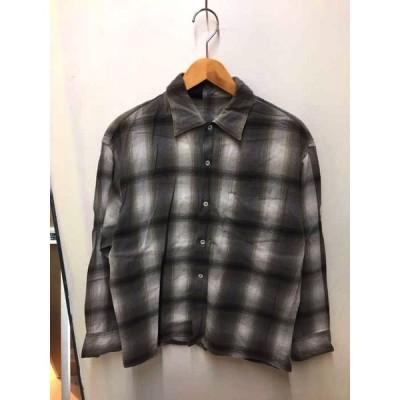 エヌハリウッド N.HOOLYWOOD オンブレチェックシャツ メンズ 36 中古 210408