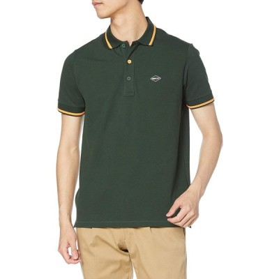 [リプレイ] ストレッチ コットンピケ ポロシャツ Polo shirt FP メンズ ダークグリーン EU L (日本サイズL相当)