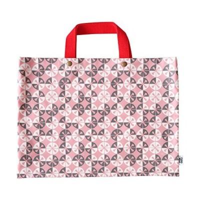 ルネ・デュー レッスンバッグ ピンク 本体サイズ:約40×30×0.3cm