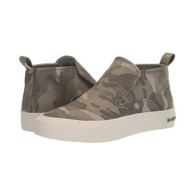 SeaVees シービーズ レディース 女性用 シューズ 靴 スニーカー 運動靴 Huntington Middie Saltwash - Sage Camo