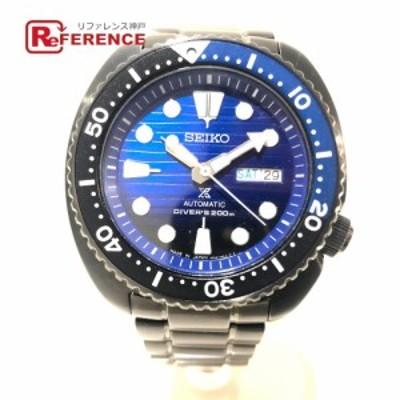 あす着セイコー 4R36-05H0 セーブ ザ オーシャン デイデイト  メンズ腕時計 腕時計