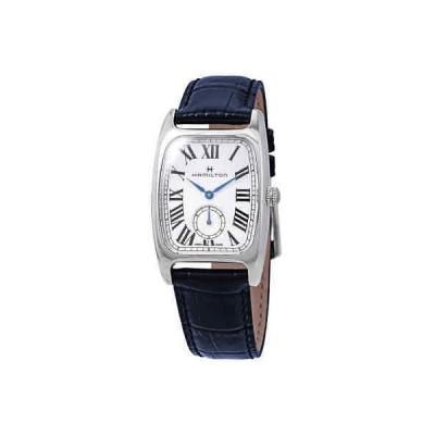 腕時計 ハミルトン Hamilton Boulton L Silver-White Dial Ladies Leather Watch H13421611