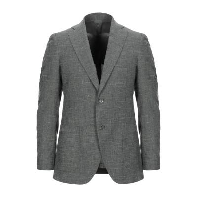 TOMBOLINI テーラードジャケット ミリタリーグリーン 56 バージンウール 65% / コットン 27% / 麻 8% テーラードジャケット