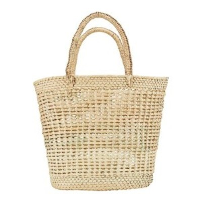サンディエゴハット メンズ ショルダーバッグ バッグ Palms Straw Open Weave Tote Bag BSB3716 Natural