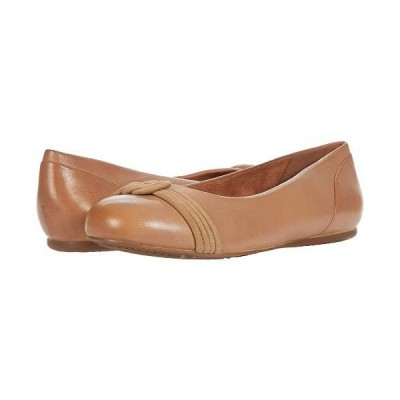 SoftWalk ソフトウォーク レディース 女性用 シューズ 靴 フラット Sonoma Knot - Tan Leather