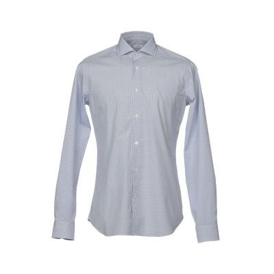 カリバン CALIBAN シャツ ダークブルー 39 コットン 100% シャツ