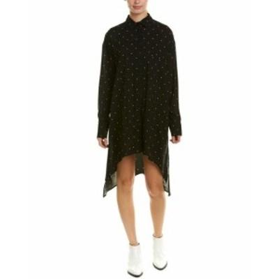 IRO イロ ファッション ドレス Iro Muze Shirtdress 34 Black