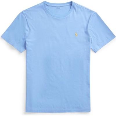 ラルフ ローレン POLO RALPH LAUREN メンズ Tシャツ トップス custom slim crewneck t-shirt Sky blue